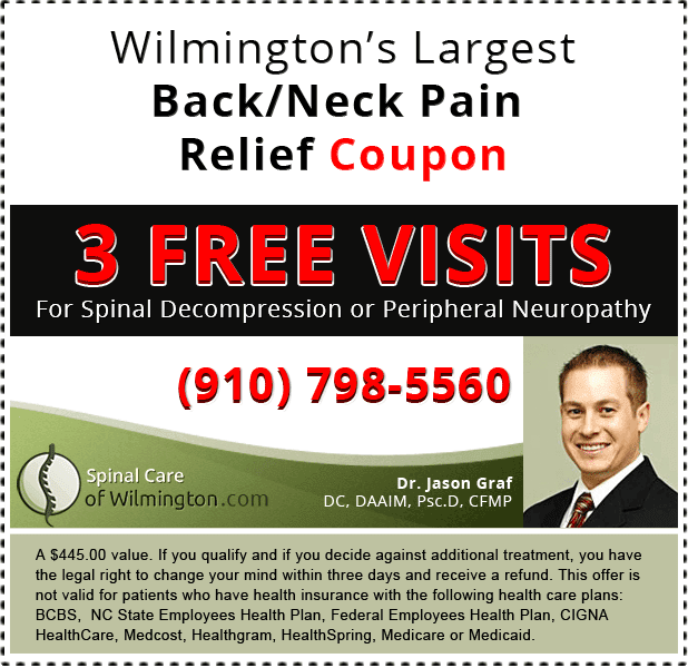 Spinal Decompression Treatment & Back pain coupon